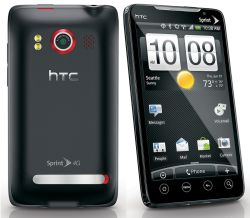 Unlocking by code HTC EVO 4G